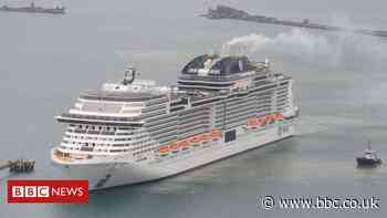 Covid in Scotland: Cruise ship not allowed to dock in Greenock