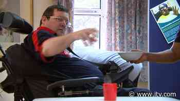 'Ice Cube Challenge' raises funds for people living with neuro-disability - ITV News