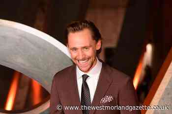 Tom Hiddleston all smiles at event to mark launch of Disney+ series Loki
