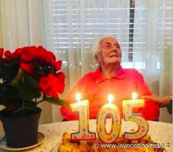 A Merano Alessandra Ferrazzi festeggia il suo 105° compleanno - La Voce di Bolzano