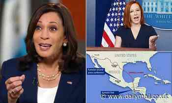 White House says Kamala MAY go to the border 'at some point'
