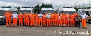 Un giorno di emergenze a Giussano: in piazza gli esami degli autisti di Croce bianca - Il Cittadino di Monza e Brianza