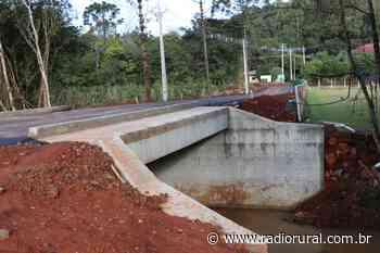 Liberada passagem de veículos na ponte em Barra Bonita, interior de Concórdia - Rádio Rural