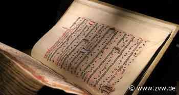 Kloster Lorch: Chorbücher in der württembergischen Schatzkammer - Homepage - Zeitungsverlag Waiblingen