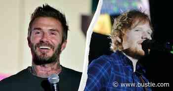 How To Watch Ed Sheeran & David Beckham's Euros TikTok Gig - Bustle
