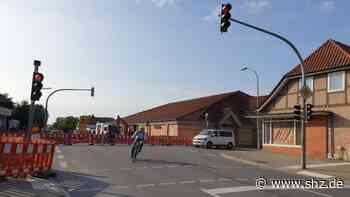 Sperrung Hauptverkehrsstraße Eutin: Bürgermeister-Steenbock-Straße bis Ende der Woche gesperrt   shz.de - shz.de