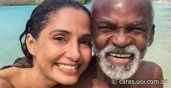 Camila Pitanga compartilha série de registros com o pai, Antonio Pitanga, e presta linda homenagem - CARAS Brasil