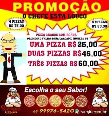 Oferta do dia da Pizzaria Serrana: Quanto mais pizza, maior o desconto - Surgiu