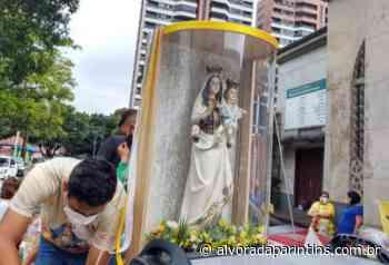 Imagem peregrina de N. Sra. do Carmo percorre bairros de Manaus - Alvorada Parintins