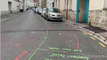 Saint-Amand-les-Eaux: rénovation du réseau d'eau potable, rue des Anges - La Voix du Nord