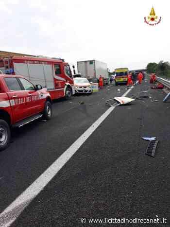 Autostrada A14 - Ancona sud /Porto Recanati-Loreto, incidente stradale: travolta auto medica durante operaz... - Il Cittadino di Recanati