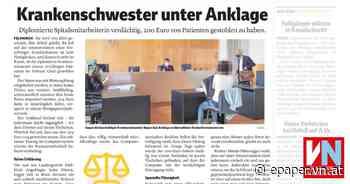 Krankenschwester unter Anklage - Vorarlberger Nachrichten | VN.AT