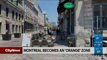 Montreal and Laval become 'orange' zones - CityNews Montreal