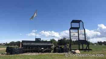 New welcome sign installed on north end of Melfort - northeastNOW