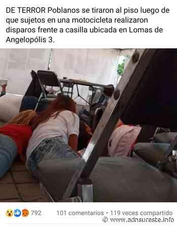 Sujetos realizan disparos en la zona de Angelópolis en Puebla (16:33 h) - ADNl sureste