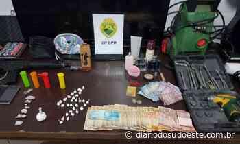 Rotam apreende cocaína e crack em Santa Izabel D'Oeste - Diário do Sudoeste