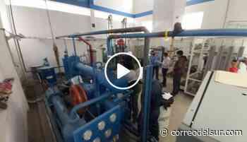 Proyectan el funcionamiento de la planta de oxígeno del Santa Bárbara para julio - Correo del Sur