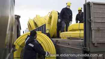 Ampliación de red de gas en el ejido urbano en Caleta Olivia: arribó el primer cargamento de caños - El Diario Nuevo Dia