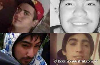 Triple crimen en Caleta Olivia: difundieron fotos de los cuatro detenidos y piden condena - La Opinión Austral
