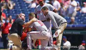 Austin Voth, Nationals pitcher, put on injured list with fractured nose