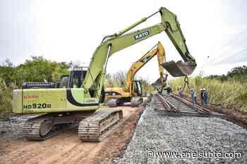 Avanzan las obras de reconstrucción del Empalme Bancalari - enelSubte.com