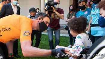 Dani Rovira se sube a la bici por las princesas Rett - Levante-EMV