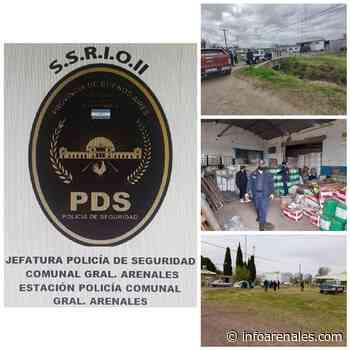 Allanamientos en Colon y Ferre por Robo en marco ilicito a la Firma BESANA SEMILLAS S.R.L ARRIBEÑOS - Info Arenales