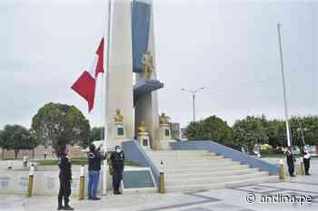 Chiclayo: conmemoran el Día de Renovación del Juramento de Fidelidad a la Bandera - Agencia Andina