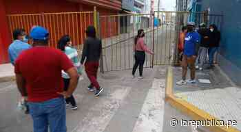 Lambayeque: continua cierre de accesos a parque principal de Chiclayo - LaRepública.pe