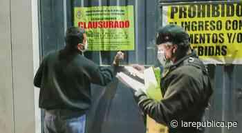 Chiclayo: clausuran local en La Victoria donde se celebraban resultados electorales - LaRepública.pe