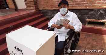 Elecciones Dolores Hidalgo 2021: Nada detiene a Alejandro para votar - Periódico AM
