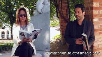 María Dueñas y Miguel Ríos San Martín en Crea Lectura - Compromiso Atresmedia