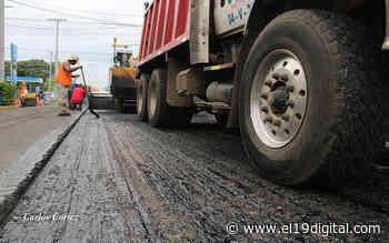 Avanza mejoramiento vial en el barrio Santa Ana en Managua - El 19 Digital