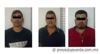 Detienen en Santa Ana, Sonora a 3 hombres por traer casi 70 mil pastillas de fentanilo - Proyecto Puente