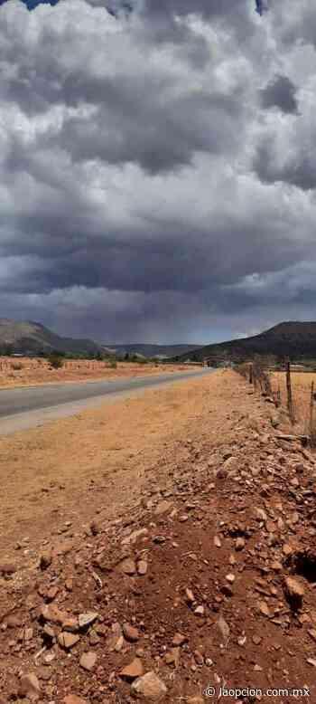 Cae granizada en municipio el charco - La Opcion