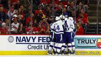 Lightning shutout Hurricanes to book place in Stanley Cup semifinals