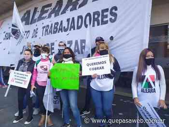 Marcha en el Bingo Ciudadela: trabajadores reclaman sueldos adeudados - Que Pasa Web