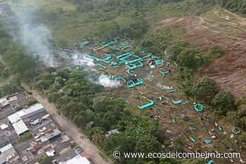 Iniciaron los desalojos de la invasión en la Ciudadela Simón Bolívar - Ecos del Combeima