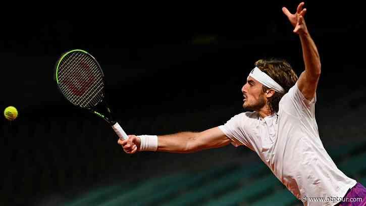 Stefanos Tsitsipas Topples John Isner In Four Sets To Reach Second Week - ATP Tour