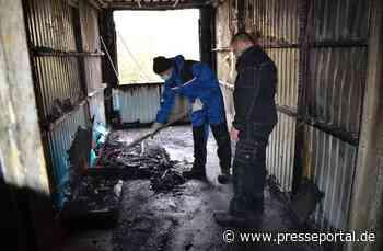 POL-STD: Teile einer Containerunterkunft für Flüchtlinge Anfang April in Buxtehude ausgebrannt -... - Presseportal.de