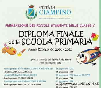 Ciampino - Il 15 giugno prende il via la consegna dei Diplomi finali della scuola primaria - Castelli Notizie