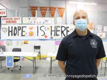Nearly 1,000 pieces of children's art brighten Lambton immunization clinic - Strathroy Age Dispatch