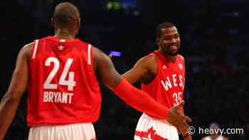 Nets Kevin Durant Explains How Kobe Bryant Impacted Him - Heavy.com