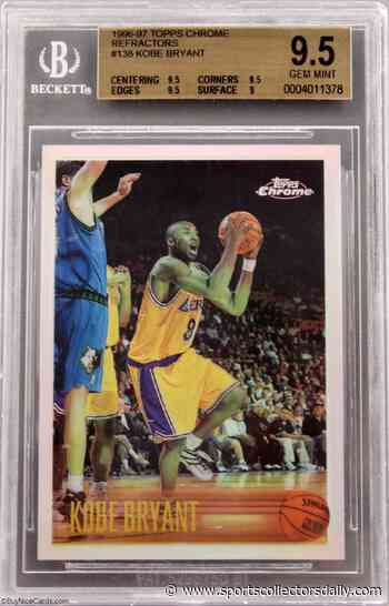 eBay: Nearly 250,000 Kobe Bryant Cards Sold So Far This Year - Sports Collectors Daily