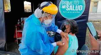 Piura: alcalde exige vacunación a adultos mayores y municipales de Máncora - LaRepública.pe