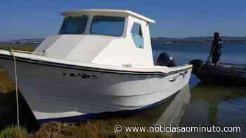 Polícia Marítima encontra barco encalhado na Ria Formosa - Notícias ao Minuto