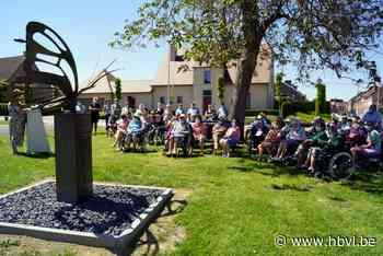 Vlinder als eerbetoon voor coronaslachtoffers en zorgverlene... (Heers) - Het Belang van Limburg