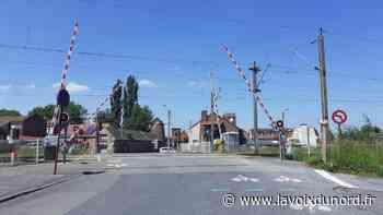 Libercourt : le passage à niveau dit « de la fosse 5 » de nouveau ouvert - La Voix du Nord