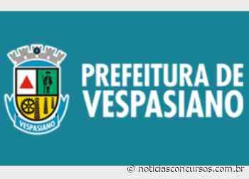 Prefeitura de Vespasiano – MG anuncia novo Processo seletivo - Notícias Concursos