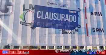 Tamaulipas Impiden clausura de Parque de Bisbol en Reynosa - Hoy Tamaulipas